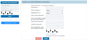 OnlineRegistrationForMarkesheetVErification